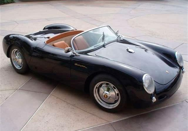 The 1955 Porsche 550 Spyder Prettymotors Com