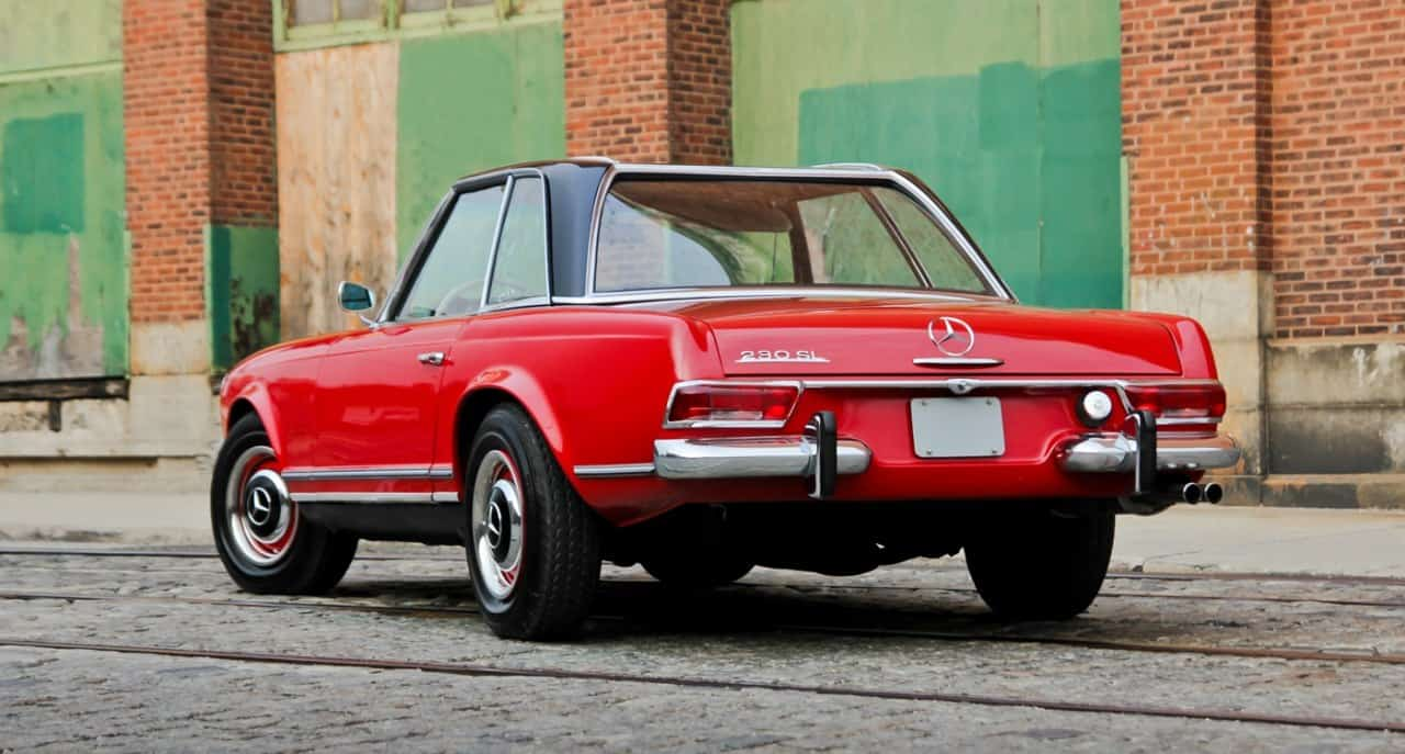 1967 mercedes benz sl pagoda 230 sl for Mercedes benz pagoda