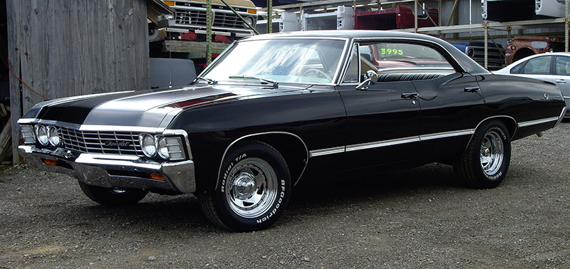 1967 Chevy Impala From Supernatural on 1967 chevelle ss 427