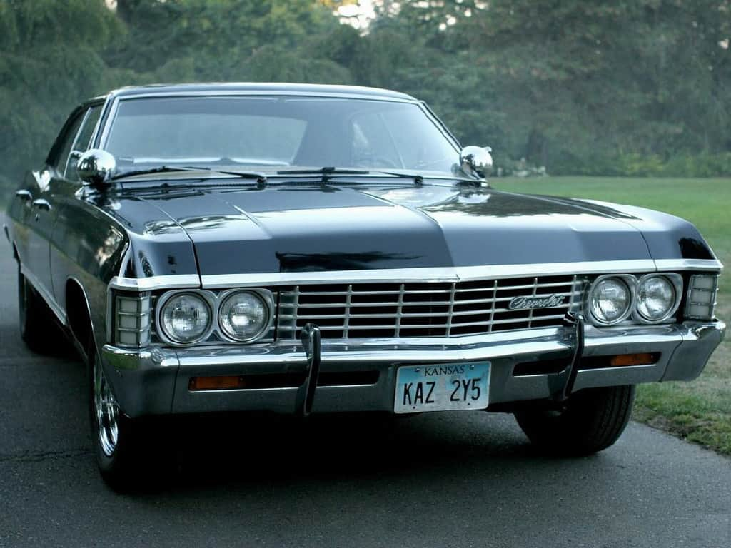 1967 chevy impala from supernatural. Black Bedroom Furniture Sets. Home Design Ideas