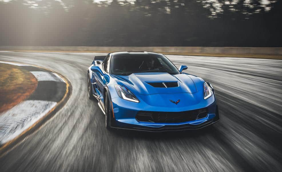 How Much Horsepower Does A  Corvette Race Car Have