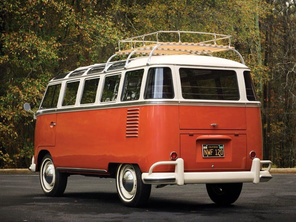 1958 volkswagen t1 deluxe samba bus. Black Bedroom Furniture Sets. Home Design Ideas