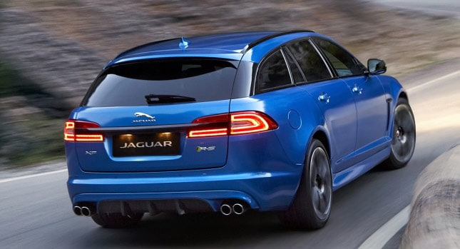 Jaguar XFR-S Wagon - Teino's welcome wagon of scalar O: https ...