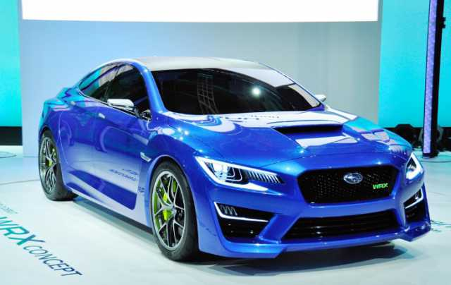 2017 Subaru Wrx Sti Pictures And Specifications