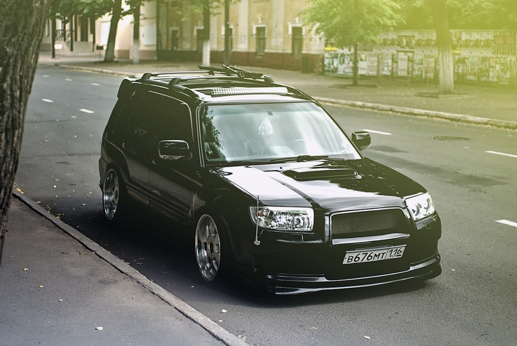 Stanced-Forester