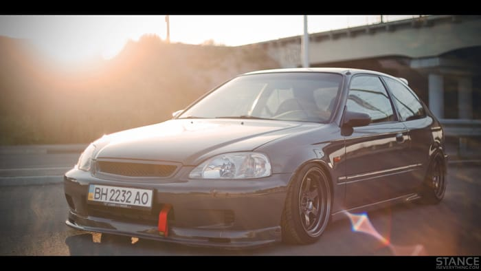 slammed-honda-civic