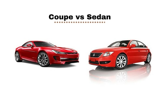 Average Car Insurance >> Coupe vs Sedan, 6 Differences and Which One is for You | PrettyMotors.com