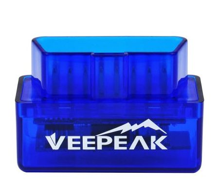Veepeak Mini Bluetooth OBD2 OBDII Scan Tool Scanner Adapter Automotive Check Engine Light Diagnostic Code Reader for Android Windows
