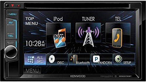 The Kenwood Double DIN Bluetooth Radio Receiver DDX372BT