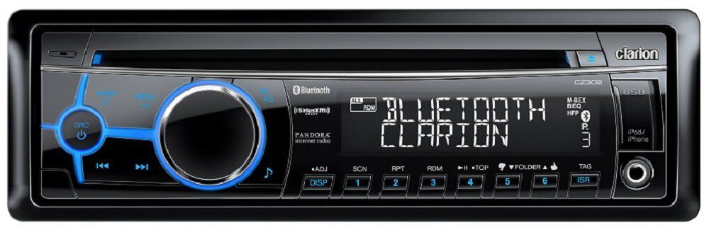 Clarion USB/MP3/CD/WMA CZ302 Bluetooth