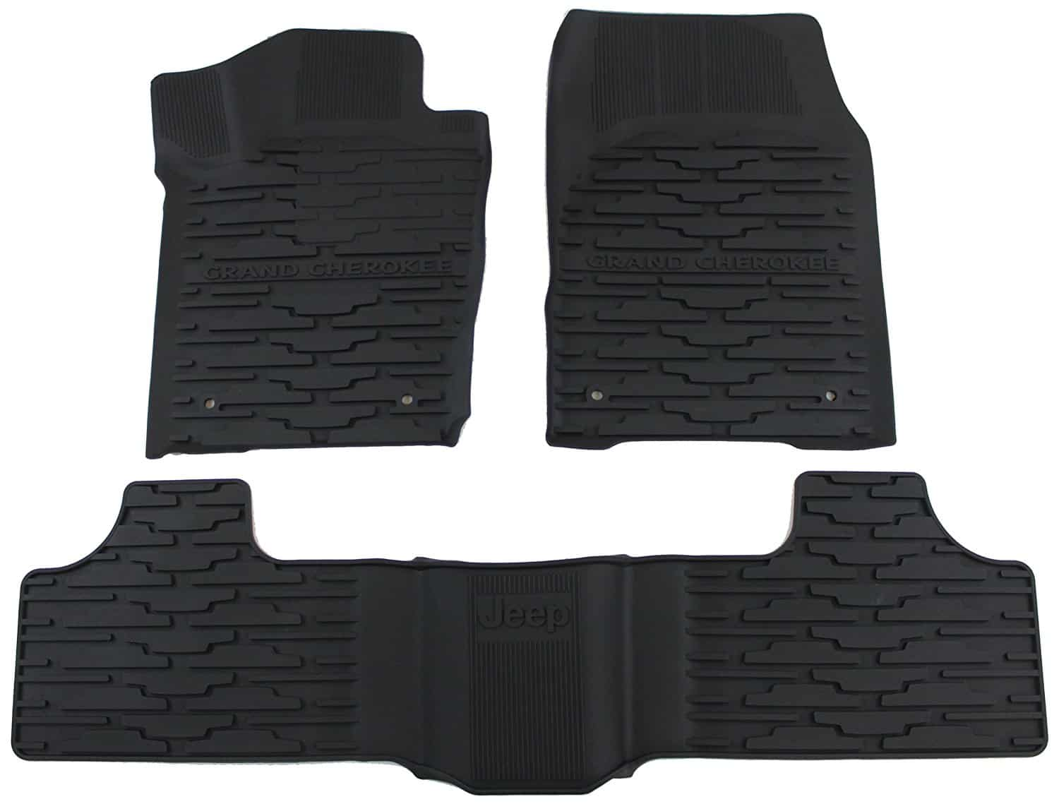 Rubber floor mats nissan rogue - Mopar 82213686 Black All Weather Floor Mat