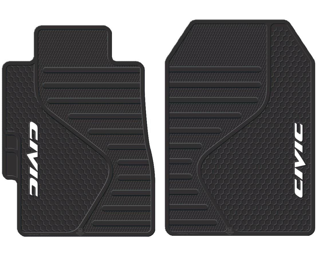 Rubber floor mats nissan rogue - Plasticolor 001409r01 Civic Floor Mat
