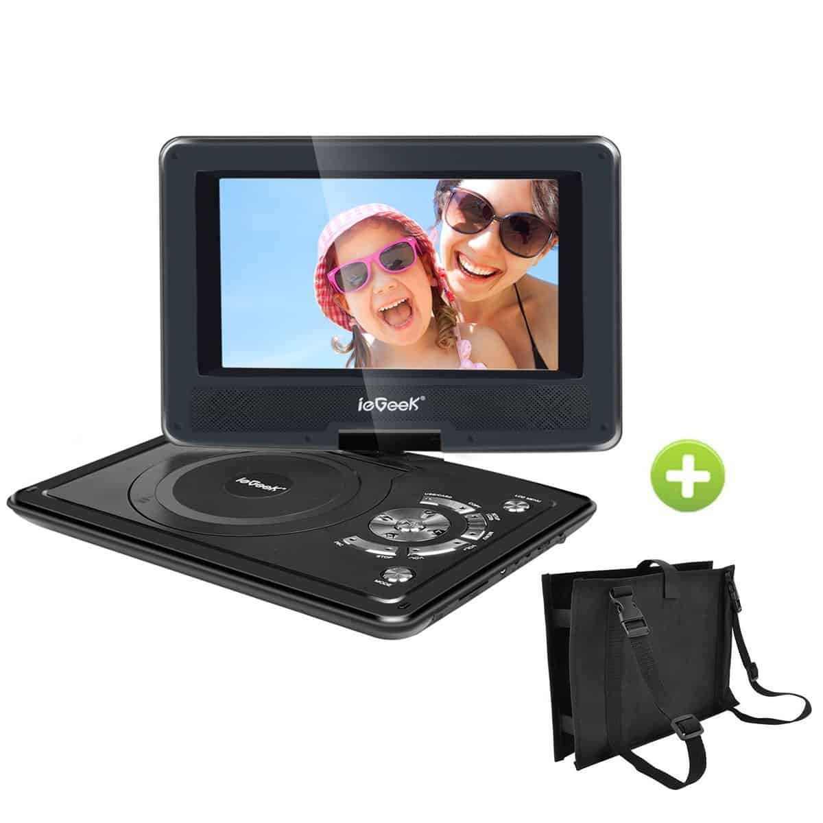 10 best portable dvd players for your car in 2018. Black Bedroom Furniture Sets. Home Design Ideas