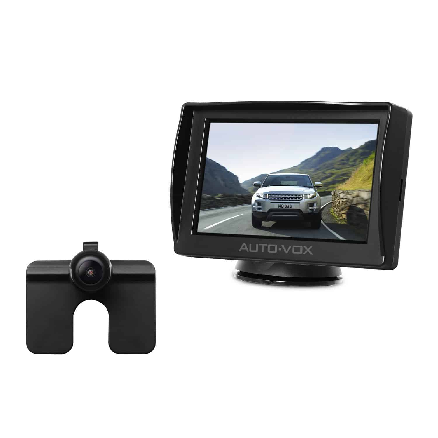 auto vox m1 car rearview backup camera kit with 4 3 tft lcd rear view. Black Bedroom Furniture Sets. Home Design Ideas