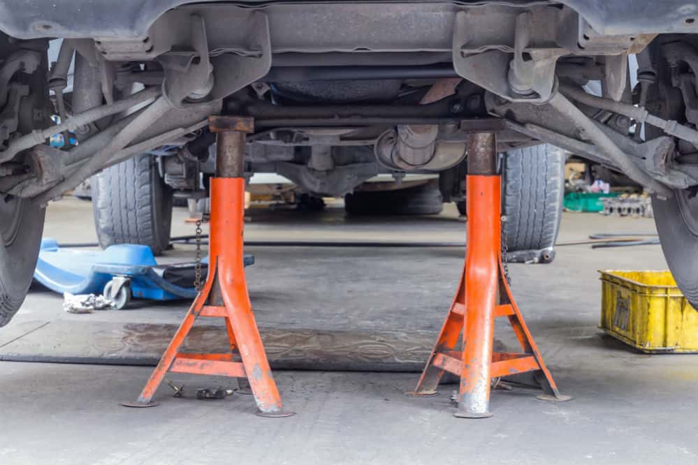 How to Put a Car on Jack Stands