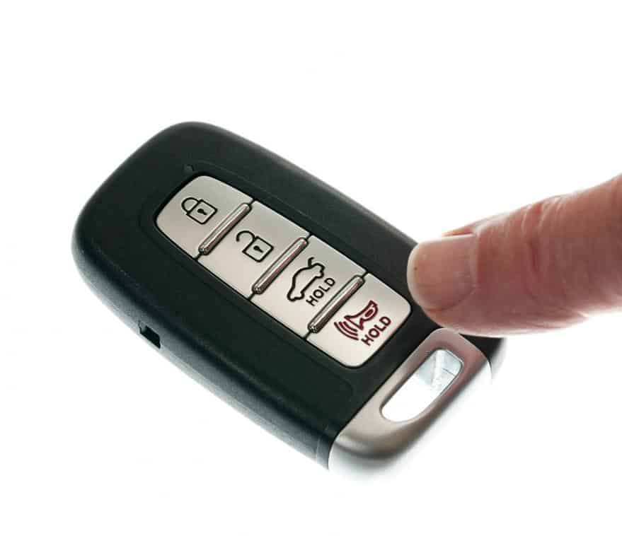 Wireless keyfob